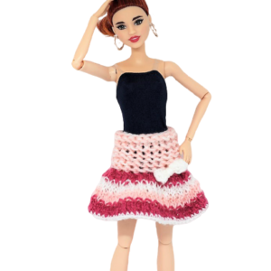spódnica dla lalki Barbie